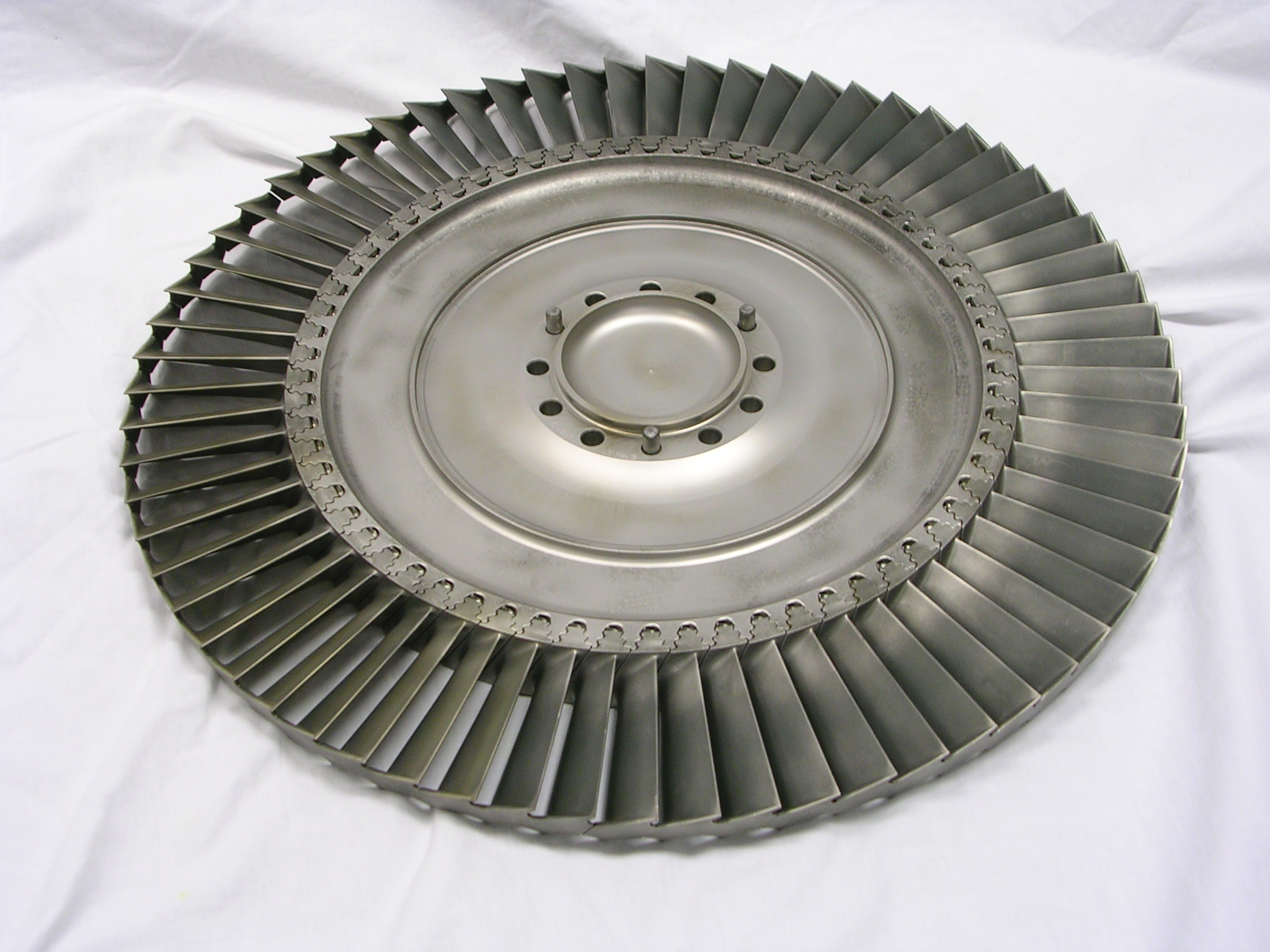 Second Stage Power Turbine Rotor Assembly