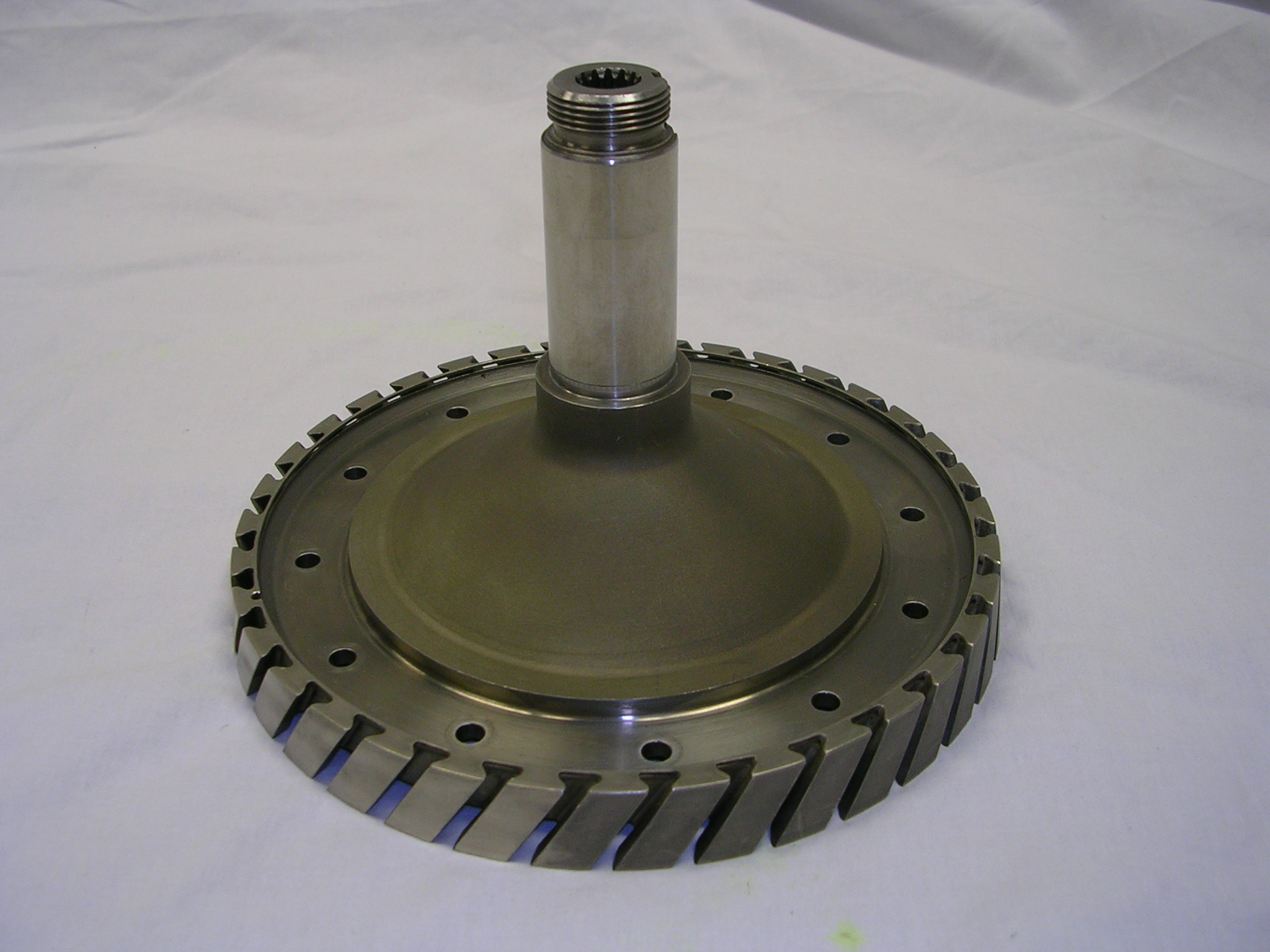 Compressor Rotor, Front Shaft