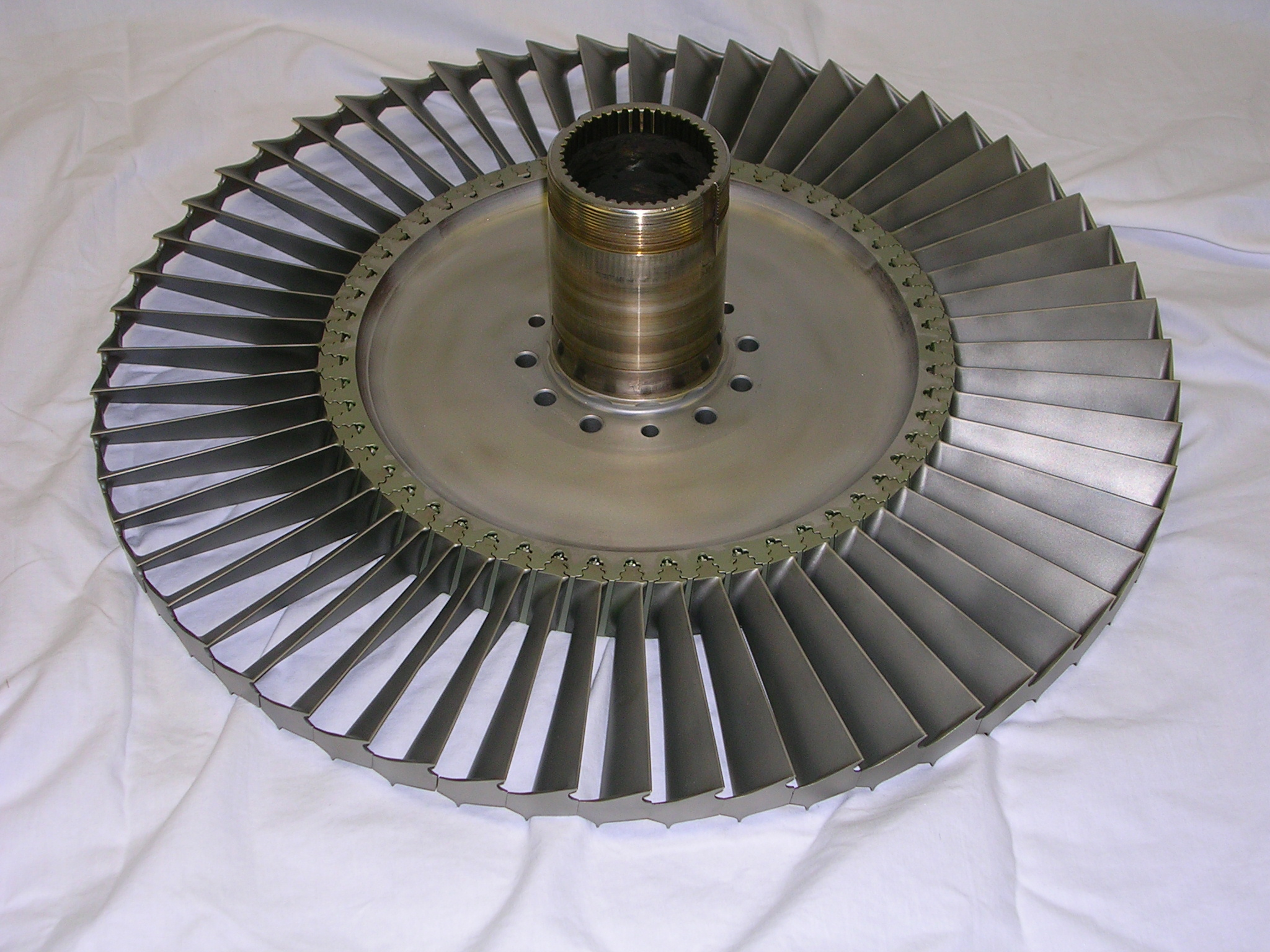Third Stage Power Turbine Rotor Assembly